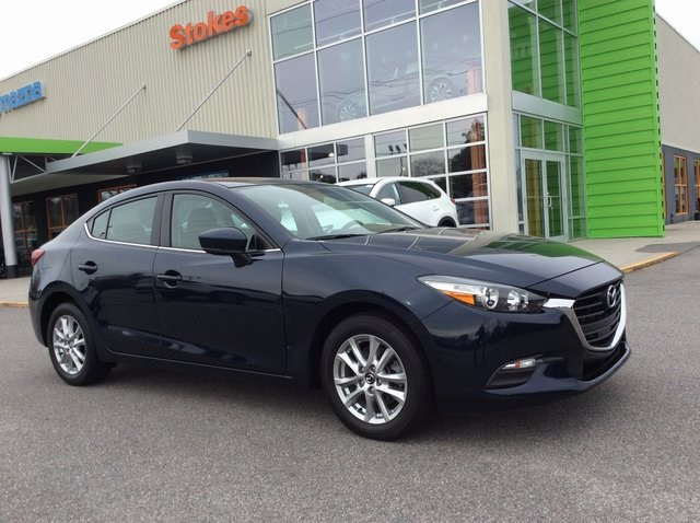 Pre-Owned 2017 Mazda3 Sport Base FWD 4D Sedan