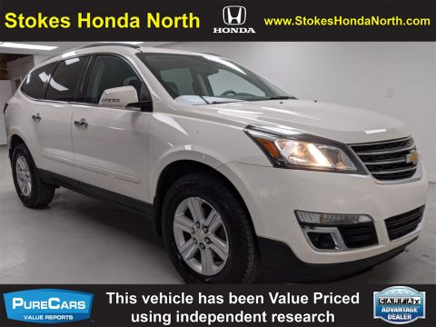 Pre-Owned 2014 Chevrolet Traverse LT FWD 4D Sport Utility