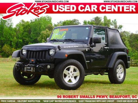 Pre-Owned 2008 Jeep Wrangler Rubicon 4WD 2D Sport Utility