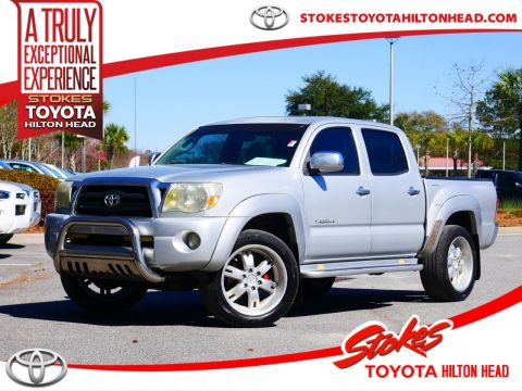Pre-Owned 2007 Toyota Tacoma PreRunner RWD 4D Double Cab