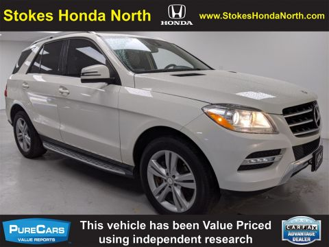 Pre-Owned 2013 Mercedes-Benz M-Class ML 350 4MATIC® 4D Sport Utility